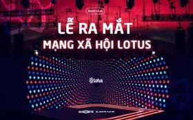 Lễ ra mắt MXH Lotus: Rhymastic khiến khán giả đứng ngồi không yên sáng tác mới, phần trình diễn siêu đã mắt, siêu công phu
