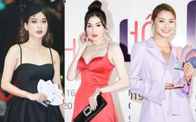 Thảm đỏ khủng sự kiện ra mắt MXH Lotus: Á hậu Tú Anh đầy lộng lẫy, Linh Ka và Hoàng Mai Anh cực xinh