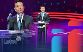 """Bộ trưởng Bộ TT&TT Nguyễn Mạnh Hùng: """"Phát triển Lotus không phải thách thức mà là cơ hội. Vì việc dễ thì không tạo ra người tài"""""""