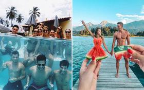 """Những kiểu chụp ảnh nhóm """"lạ lùng nhỉ"""" mà giới Instagram nước ngoài đang lăng xê tích cực: Hay thì hay thật nhưng không dễ """"đu trend"""" đâu!"""