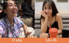 """Ái nữ đại gia Minh Nhựa chung số phận với hội con gái: Lên đồ ra phố """"chanh sả"""" ngút ngàn, ở nhà xuề xoà đố ai nhìn ra!"""