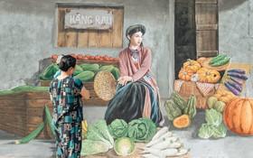 7 sinh viên biến làng trồng rau củ thành làng bích họa đầu tiên của Hà Nội