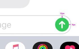 Phát hiện nút gửi tin nhắn trên iPhone bị lệch vài hạt bụi, cộng đồng Designer từ Ta đến Tây cà khịa như được mùa