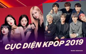 """Cục diện Kpop 2019: Lễ trao giải biến thành sân chơi """"BTS và những người bạn"""" trong khi Big 3 lặn mất tăm, cán cân quyền lực không còn nghiêng về """"ông lớn""""?"""