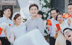 """Cuối cùng cũng có một cặp đôi quyết định làm đám cưới hậu """"Người ấy là ai""""!"""