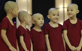 5 chú tiểu Bồng Lai trở lại, diễn 15 vòng khiến Trấn Thành cười sặc sụa, ẵm luôn 150 triệu đồng!