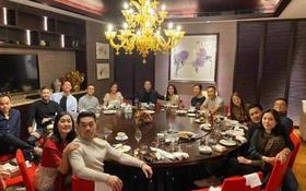 Philip Nguyễn - Linh Rin tình tứ còn hơn cả vợ chồng Hà Tăng trong tiệc tùng cuối năm: Ra giêng anh cưới em chăng?