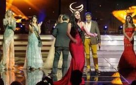 Chuyện hi hữu: Mỹ nhân Colombia la lối tố BTC thiếu minh bạch ngay trên sân khấu chung kết Miss Global, dàn người đẹp vỗ tay hưởng ứng