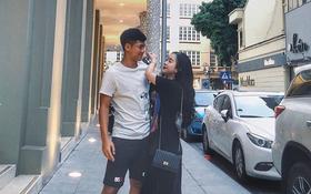 """Hà Đức Chinh và bạn gái lọt top couple tình tứ trên MXH: Chàng thoải mái nói lời yêu, nàng hãnh diện gọi """"người hùng của em"""""""