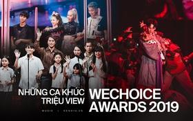 """Các màn trình diễn đều """"ầm ầm"""" triệu view chỉ sau 1 tuần, WeChoice chính là giải thưởng sở hữu các sân khấu âm nhạc ấn tượng nhất năm nay!"""