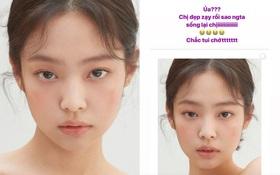 Jennie xinh đẹp mơn mởn với kiểu makeup quả đào khiến Rosé, Trà Long, Khánh Linh phải xuýt xoa