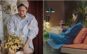 """Son Ye Jin từ """"gái quê"""" quay lại tiểu thư nhà tài phiệt, chỉ riêng giá chiếc áo choàng ngủ mặc nhà cũng đủ gây trầm trồ"""