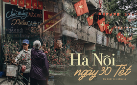 30 Tết, Hà Nội tặng chúng ta món quà vô giá quá…