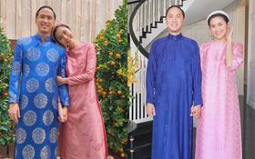 Cứ Mùng 1 Tết, vợ chồng Hà Tăng lại xúng xính áo dài du xuân: Hơn 1 thập kỷ gắn kết, chưa bao giờ quên nắm chặt tay!