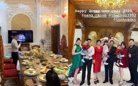 """""""Cô dâu 200 cây vàng"""" hé lộ hình ảnh bên trong lâu đài 7 tầng ở Nam Định, bàn ăn với bát đũa nhìn như dác vàng loá cả mắt"""