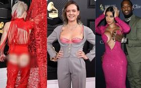 Hết hở ngực lại đến mông, những bộ cánh dị hợm - thảm họa nhất thảm đỏ Grammy 2020, mới đầu năm đã khiến người xem ngán ngẩm