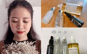 Không nhận 1 đồng quảng cáo, cô nàng này review cực có tâm 4 loại serum giúp phục hồi da sau mụn