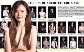 Khoe ảnh profile cả dàn thầy cô giới thiệu khoa, nhan sắc nữ giảng viên đại học nổi tiếng Vbiz Midu chiếm trọn spotlight