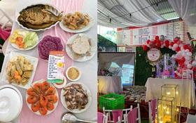 """Ngoài hơn 150 mâm cỗ, """"cô dâu"""" ở Điện Biên còn bị nhà hàng tố từng đặt 156kg gà, 40kg giò, 180 đĩa mía tráng miệng và cũng chưa trả tiền"""