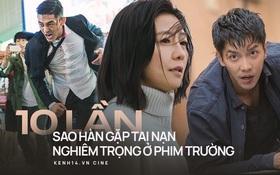 10 lần sao Hàn gặp tai nạn ở phim trường: Lee Min Ho bay móng chân vì lao vào bùn, Kim Hae Ae xém bị sóng cuốn mất xác