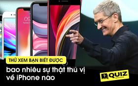 Thử tài iFan: Bạn biết bao nhiêu sự thật về iPhone?