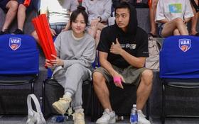 Xuất hiện cạnh bạn trai của Mẫn Tiên, ca sĩ Phương Ly chiếm trọn spotlight tại giải đấu bóng rổ chuyên nghiệp Việt Nam
