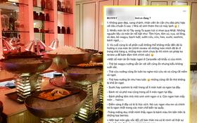 """SỐC: Khách review buffet không ưng ý, nhân viên khách sạn 5 sao ở Sài Gòn mỉa mai """"1tr4 to quá, ăn 140k ở chợ Bến Thành còn hơn đó"""""""