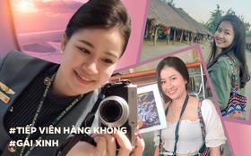Gái xinh Việt làm tiếp viên hàng không tại Đài Loan, từng trượt phỏng vấn chỉ vì câu hỏi: Bạn thích màu gì nhất?