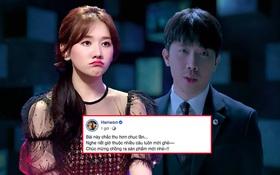 """Hari Won không ngại """"bóc phốt"""" ông xã sau khi xem MV hát song ca cùng Thuỳ Chi: Chắc Trấn Thành thu âm hết cả chục lần!"""