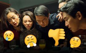 Coi xong muốn khóc thét với hội bạn thân giả trân ở Tiệc Trăng Máu, xin nghỉ chơi giùm đi chứ ở đó mà ăn tiệc?