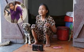 """Gặp cụ bà lưng còng """"cõng"""" bao quần áo, mì tôm ủng hộ người dân miền Trung: """"Hơn 200.000 đồng⁄tháng tôi vẫn đủ ăn tiêu xả láng, của ít lòng nhiều, giúp được phần nào đỡ phần đó"""""""