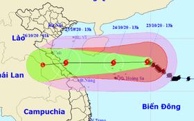 Tin bão mới nhất: Bão số 8 mạnh cấp 13 giật cấp 15 còn cách Hoàng Sa 280km, sẽ giảm cấp khi vào biển Hà Tĩnh - Quảng Trị