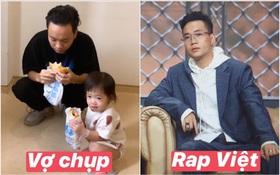 """JustaTee bị bà xã """"dìm hàng"""" không thương tiếc, bảnh trai ở Rap Việt - về nhà xuề xoà chuẩn ông bố bỉm sữa"""