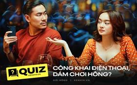 Quiz: Bạn có dám chơi trò công khai điện thoại như Tiệc Trăng Máu?