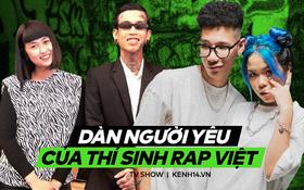 """Dàn người yêu của dàn thí sinh Rap Việt: Người phát """"cẩu lương"""" như cơm bữa, kẻ nhất quyết giấu mặt tới cùng!"""