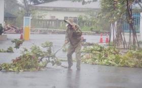 """Chuyên gia cảnh báo: """"Trưa sẽ có lúc lặng gió, tuyệt đối không ra ngoài. Gió sẽ mạnh trở lại ngay!"""""""