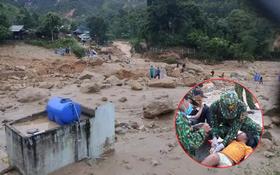 Vụ sạt lở đất vùi lấp hàng chục người ở Trà Leng: Tìm cách chuyển 4 người bị thương đi cấp cứu