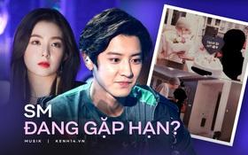 """Từ Irene (Red Velvet) đến Chanyeol (EXO) liên tiếp dính """"phốt"""" động trời, SM gặp hạn hay bị hại mà lao đao thế này?"""