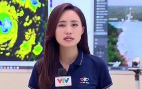 BTV thời tiết của VTV chia sẻ áp lực 30 lần lên sóng trong 2 ngày bão vào, kêu gọi mọi người đừng chủ quan