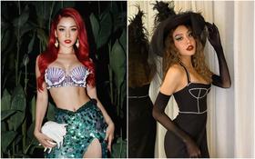 """Hội hot hit Instagram nô nức hoá trang Halloween, nể về độ đầu tư và đủ sức """"chặt chém"""" cả bản gốc"""