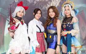 """Gái xinh """"đại náo"""" trận Chung Kết ĐTDV Mùa Đông 2020: Hot girl, streamer đều đủ cả!"""
