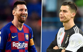 Đọc trộm nhật ký của Ronaldo khi Messi về chung đội
