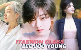 """Cô nàng chuyển giới siêu hot của """"Itaewon Class"""": Nhan sắc lạ, lột xác nhờ tóc dài và màn hôn môi đồng tính gây sốc"""