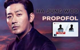 """SỐC: Tài tử """"Thử thách thần chết"""" Ha Jung Woo bị vạch trần hành vi dùng chất cấm Propofol, lợi dụng em trai để trốn tội"""