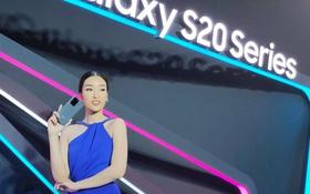 """Galaxy S20 chính thức trình làng tại Việt Nam: Hoa hậu Đỗ Mỹ Linh xuất hiện khiến bao người phải """"đứng hình"""""""