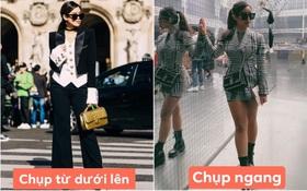 """Rich kid Tiên Nguyễn bị soi chân ngắn """"một mẩu"""": Hoá ra lỗi góc chụp không chừa bất cứ ai"""