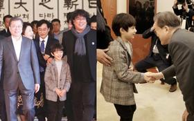 """Dàn sao """"Ký sinh trùng"""" gây bão khi diện kiến Tổng thống Hàn tại Nhà Xanh, sao nhí điển trai đến mức chiếm trọn spotlight"""