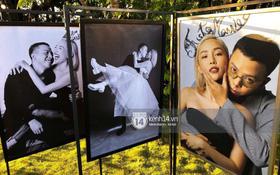 Độc quyền ảnh cưới chưa từng được công bố của Tóc Tiên và Hoàng Touliver: Ánh mắt, nụ cười ngập tràn hạnh phúc!