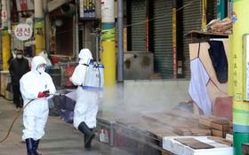 Hàn Quốc tăng mức cảnh báo cao nhất: 6 người chết, 602 ca nhiễm virus corona, 329 người có liên quan đến giáo phái ở Daegu