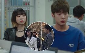 """Lộ ảnh hậu trường Tầng Lớp Itaewon: """"Điên nữ"""" lột xác trưởng thành, cười tươi rói bên nam phụ tổng tài, chuyện gì đây?"""